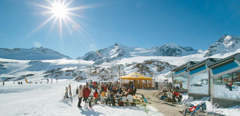 Pitztal im Winter